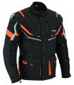 LvE49-Afric / All-season three-layer 3/4 jacket for motorcycles (for Men)