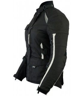 RF7047-Air / Perforated Motorcycle summer Jacket (for women)