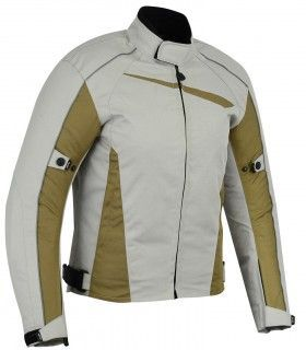 LvR91-Prime / Perforated three-ply summer motorcycle jacket (for men)