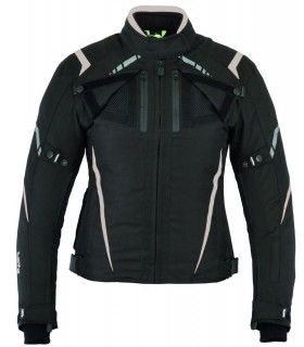 LvR92-Prime / Perforated three-ply summer motorcycle jacket (for women)