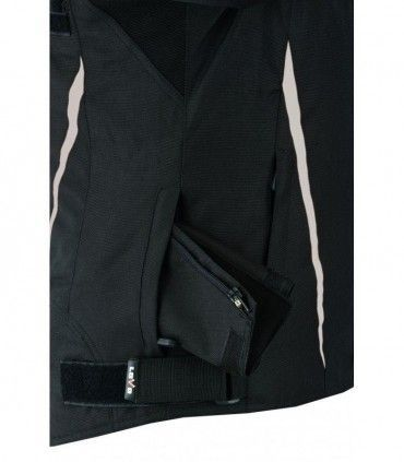 Perforated three-ply summer motorcycle jacket (for women)