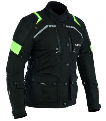 All-season three-layer jacket for motorcycles (for women)